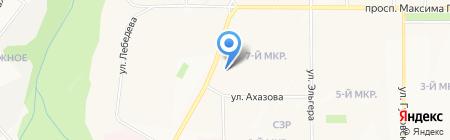 Магазин сантехники на карте Чебоксар