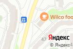 Схема проезда до компании Красное & Белое в Чебоксарах