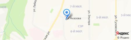 Фармакор на карте Чебоксар