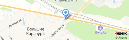 Кредо на карте Больших Карачуров