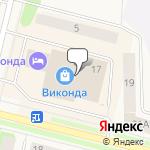 Магазин салютов Коряжма- расположение пункта самовывоза