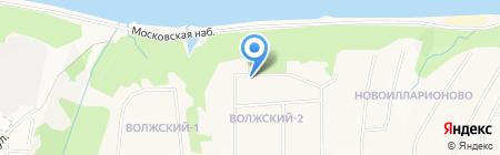 Федерация Тенниса Чувашской Республики на карте Чебоксар