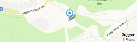 Турист на карте Чебоксар