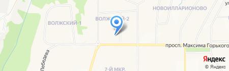 Альянс-С на карте Чебоксар