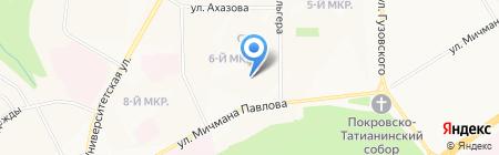Продукты на карте Чебоксар