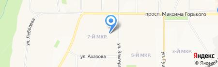 Детский сад №117 на карте Чебоксар