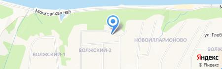Никс на карте Чебоксар