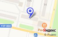Схема проезда до компании ОБЩЕЖИТИЕ № 3 в Коряжме