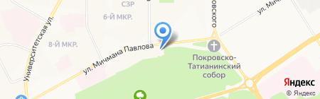 Старт-Инвест на карте Чебоксар