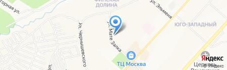 Аталия на карте Чебоксар