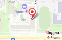 Схема проезда до компании Унитех-Пром в Чебоксарах