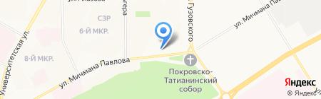 Добрый на карте Чебоксар