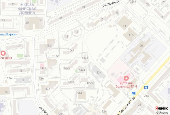 жилой комплекс ул. Мате Залка