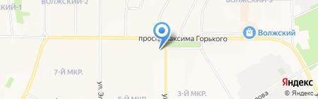 Золотой Век Бижутерии на карте Чебоксар