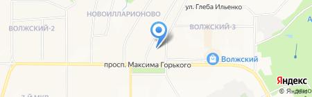 Агат21 на карте Чебоксар