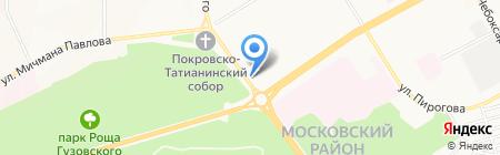 Банкомат Волго-Вятский банк Сбербанка России на карте Чебоксар