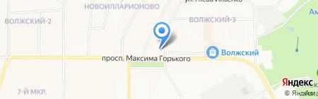 А1 ГРУПП на карте Чебоксар