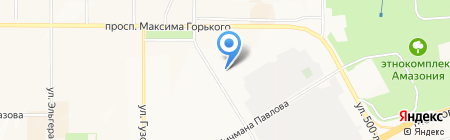 Участковый пункт полиции №4 на карте Чебоксар