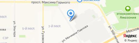 Золотой Колос на карте Чебоксар
