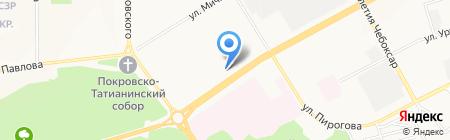 ТоварищЪ на карте Чебоксар