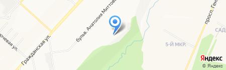 Гражданский на карте Чебоксар