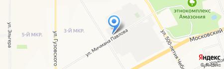 Шатура на карте Чебоксар