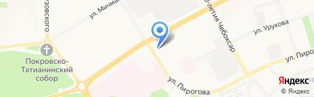 Транспортная компания на карте Чебоксар