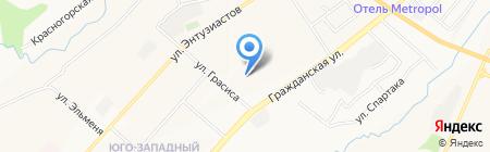 Детский сад №98 на карте Чебоксар