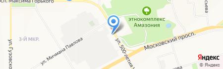 СнарЯжение для путешествий на карте Чебоксар