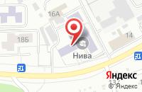 Схема проезда до компании Кб «Энергоинструмент» в Чебоксарах