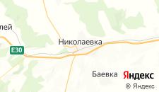 Гостиницы города Николаевка на карте