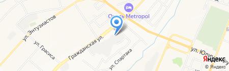 Центр Мебельной Фурнитуры 21 на карте Чебоксар
