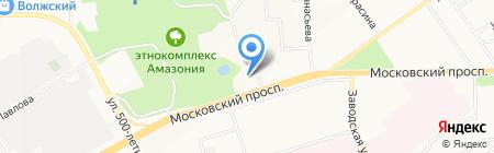 Инком21 на карте Чебоксар