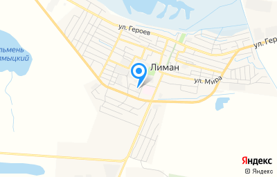 Местоположение на карте пункта техосмотра по адресу Астраханская обл, рп Лиман, ул Н.Островского, зд 2