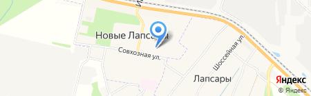 Начальная школа-детский сад на карте Чебоксар