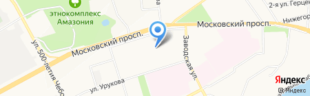 Рекрут21 на карте Чебоксар