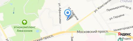 Детский сад №27 на карте Чебоксар