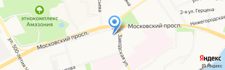 Мегаполис на карте Чебоксар