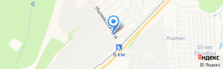 Аргус на карте Чебоксар