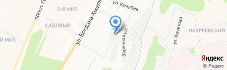 Обряд на карте Чебоксар