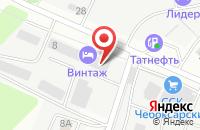 Схема проезда до компании Тзч в Чебоксарах
