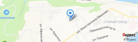 Автолидер на карте Чебоксар