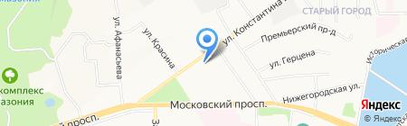 НСС на карте Чебоксар