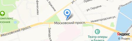 Банкомат Банк ВТБ 24 на карте Чебоксар