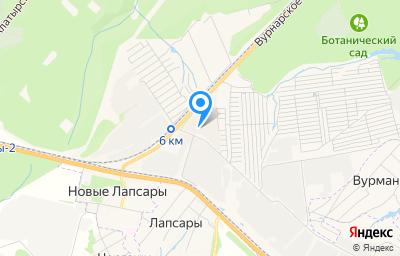 Местоположение на карте пункта техосмотра по адресу г Чебоксары, ш Ишлейское, д 28