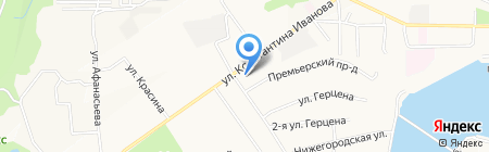 Компания Июнь на карте Чебоксар