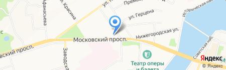 Банкомат Газпромбанк на карте Чебоксар