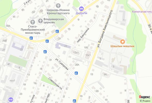 жилой комплекс ул. Богдана Хмельницкого