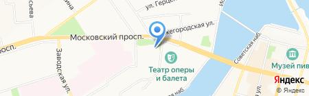 Союз проектировщиков Поволжья на карте Чебоксар