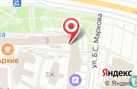 Схема проезда до компании Волго-Вятский банк Сбербанка России в Чебоксарах